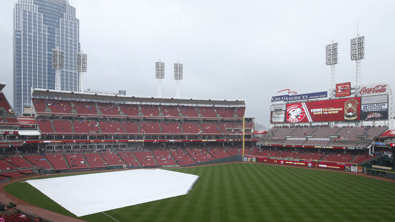 Reds' matchup with Cubs gets rained out