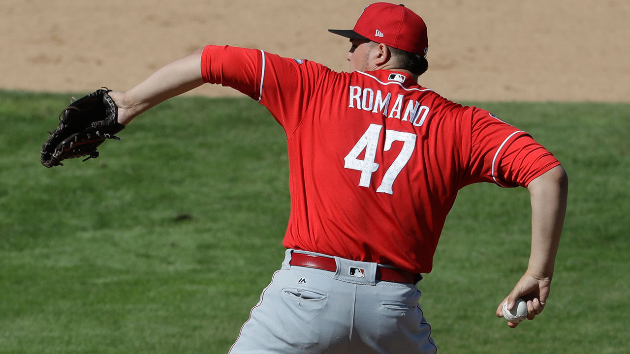 Romano's strong spring gives Reds dilemma